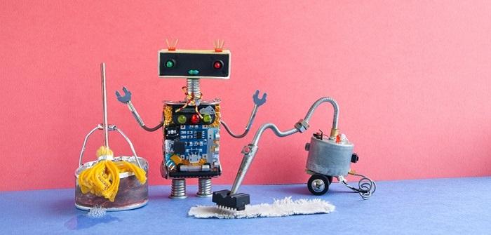 Zeitsparende Technik: In der Freizeit nicht auch noch putzen müssen (Foto: Shutterstock-Besjunior)